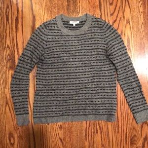 wool Madewell sweater with heart details